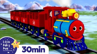 Train Song +More Nursery Rhymes and Kids Songs | Little Baby Bum