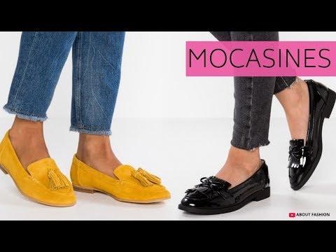 MODA en MOCASINES de Mujer   Tendencias Zapatos Otoño Invierno 2018 2019 Para Outfits Elegantes