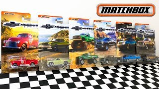 Matchbox Chevrolet Trucks Series Unboxing And Review
