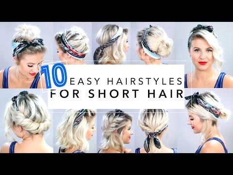 10 تسريحات شعر مميزة باستخدام باندانا الشعر