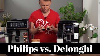 Philips Lattego im Vergleich mit dem DeLonghi ECAM 23.466.B