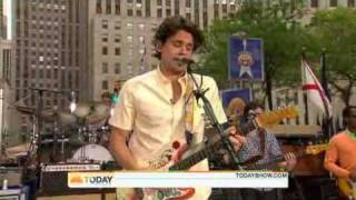 John Mayer - Waiting For The World To Change  [ Live Today Show 07/23/2010 ]