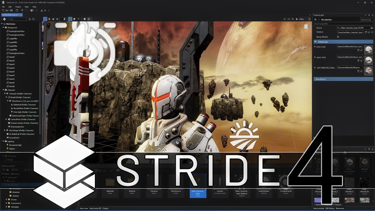 Stride 4 Game Engine Release (For Real This Time...)