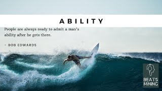 Ability | Famous Quotes About Your Ability [Motivational Video] [WhatsApp Status]