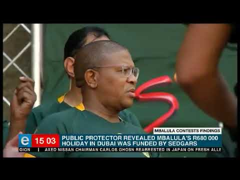 Mbalula to contest Public Protector's Dubai findings