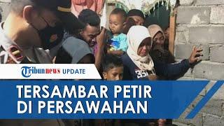 Wanita di NTB Tersambar Petir di Sawah, Suami Gendong Jasad Korban dan Mencari Bantuan