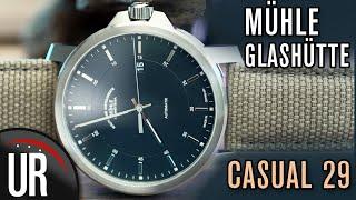 ICH KANN DRESSWATCH! Mühle Glashütte CASUAL 29 |Test|Review|Deutsch