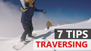 #48 Snowboard begginer – Tips for traversing on a snowboard