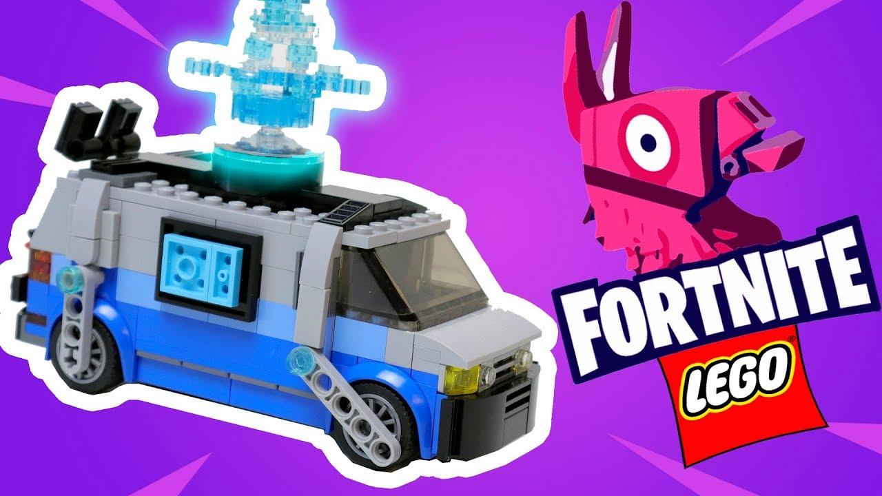 LEGO FORTNITE Respawn van - [How to build]