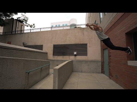 Parkour Training – Jesse La Flair