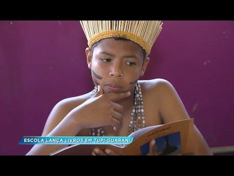 Escola de Avaí lança livros em tupi-guarani para preservar a língua indígena