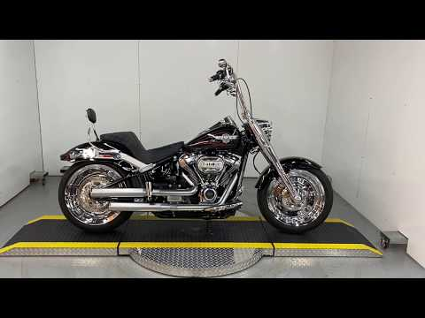 Used Customized 2018 Harley-Davidson® Softail Fat Boy 114 For Sale FLFBS