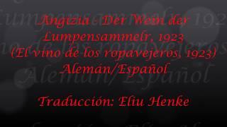 Angizia - Der Wein der Lumpensammler, 1923 (Subtitulos Alemán/Español)