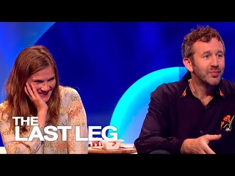 Chris O'Dowd drunk on a British talk show