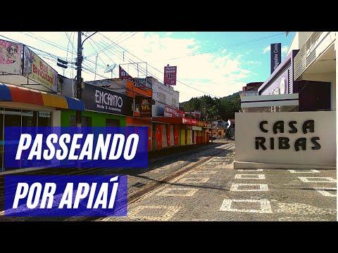 Passeio pela cidade de Apiaí, sul do estado de São Paulo.