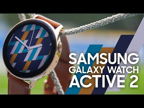 Обзор Samsung Galaxy Watch Active2