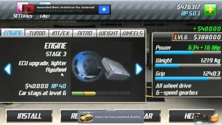 Android Play: Drag Racing Career Stage 6 Walkthrough