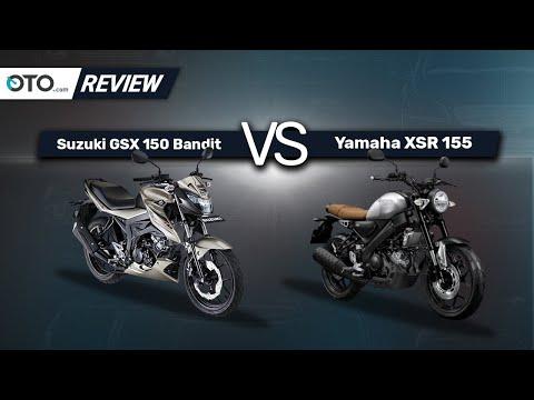 Suzuki GSX 150 Bandit vs Yamaha XSR 155 | Bike Review | Pilih Yang Mana? | OTO.com