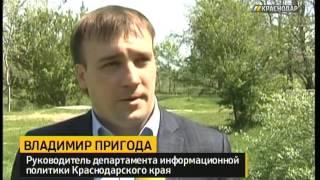 Сотрудники телеканала «Краснодар» приняли участие в высадке аллеи в Горячем Ключе