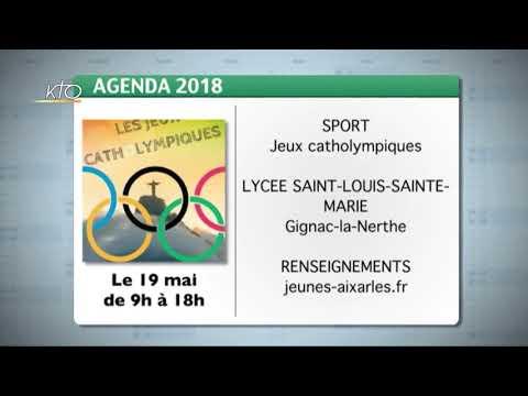 Agenda du 27 avril 2018