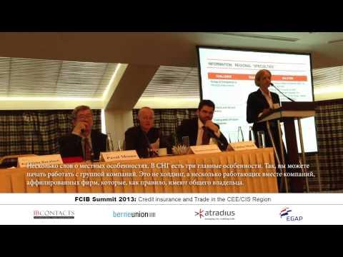 Выступление Катерины Барабаш на тему торгового финансирования в СНГ