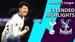 Tottenham v. Crystal Palace | PREMIER LEAGUE EXTENDED HIGHLIGHTS | 4/3/19 | NBC Sports