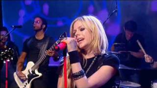 Avril Lavigne - Hot live @ Friday Night Project