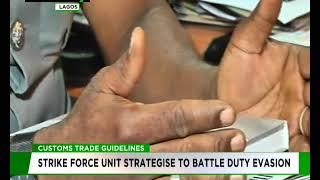 Customs strike force unit strategise to battle duty evasion