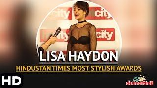 Lisa Haydon | Hindustan Times Most Stylish Awards, Delhi | 2016