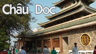 preview picture of video 'One day in Châu Doc: Ba Chua Xu Temple, Thoai Ngoc Hau, Tay An Pagode'