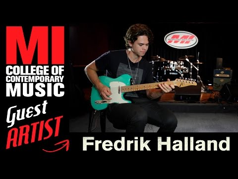Fredrik Halland Being A Session Musician