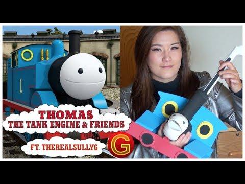 Thomas the Tank Engine Theme (ft. TheRealSullyG) - Otamatone Cover || mklachu