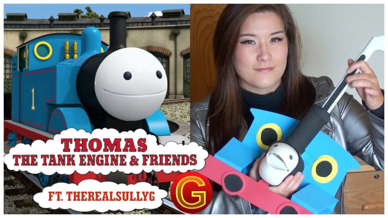 Thomas the Tank Engine Theme (ft. TheRealSullyG) – Otamatone Cover || mklachu