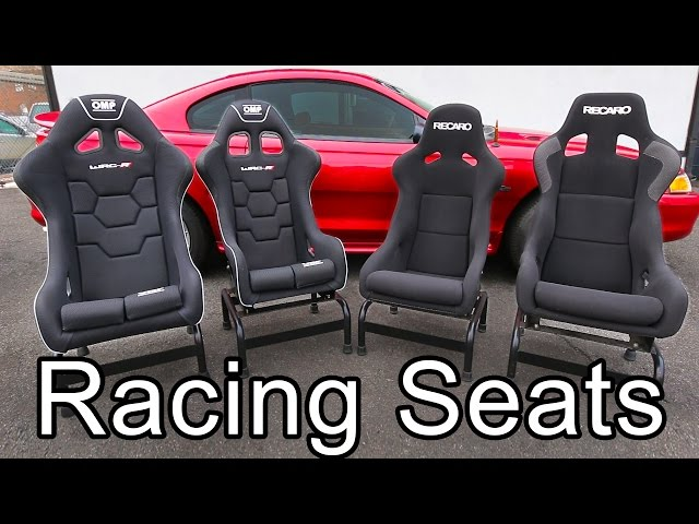 car racing seats 101 the awesomer. Black Bedroom Furniture Sets. Home Design Ideas