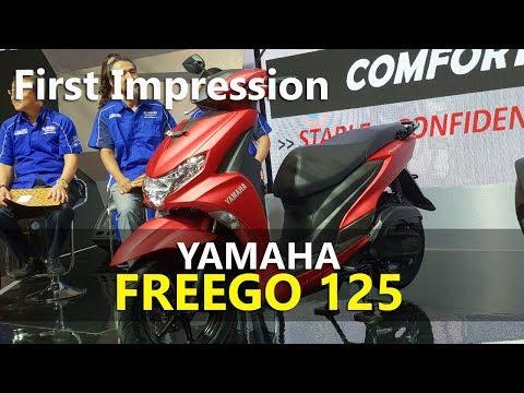 VLOG : First Impression Yamaha FreeGo 125
