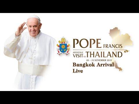 duc thanh cha phanxico den bangkok – thai lan ban dai bac chao mung