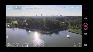 2020 New DJI Mavic Air 2 FPV Flying Mode Walkthrough/preview (Almost Crash!)