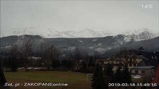 Zakopane , Dzień w Tatrach 2019-03-18