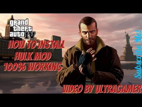 Won't launch after following this video on how to install Hulk mod