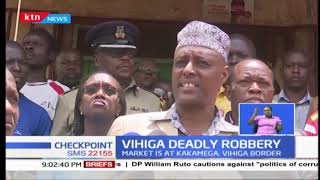 Police launch manhunt after 5 security guards were killed in Vihiga