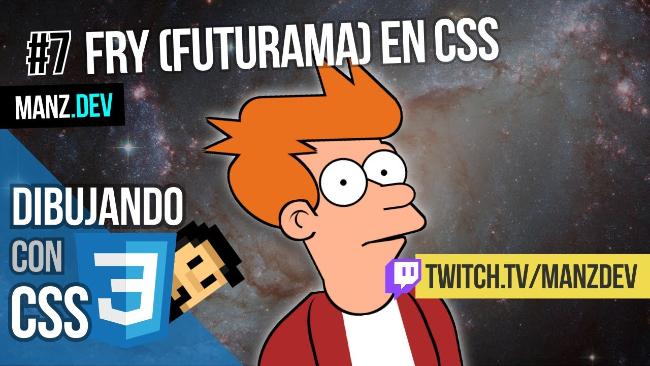 Dibujando a Fry (Futurama) con CSS