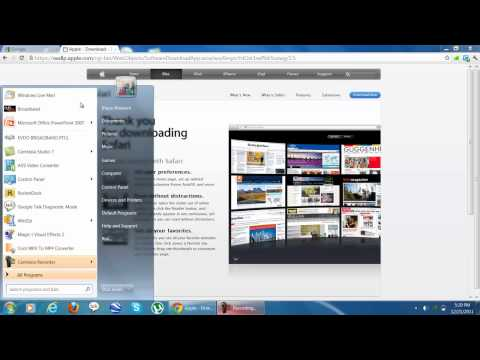 How to download Safari for Windows 7