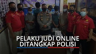 Main Judi Online di Pos Pemuda, Kakek 63 Tahun dan 4 Pria Lainnya Ditangkap Polsek Padang Selatan