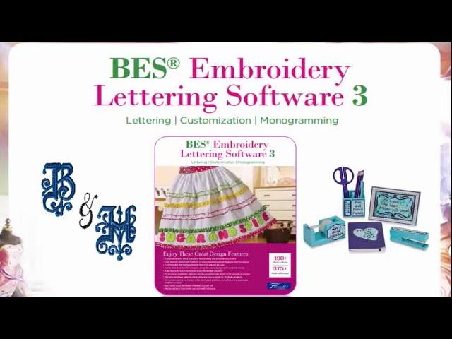 Bes Embroidery Lettering Software 3 Sabeslet3