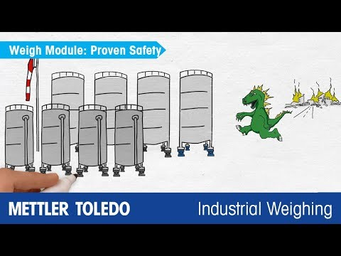 Easy Integration Load Cells Weigh Modules Sensors Mettler Toledo