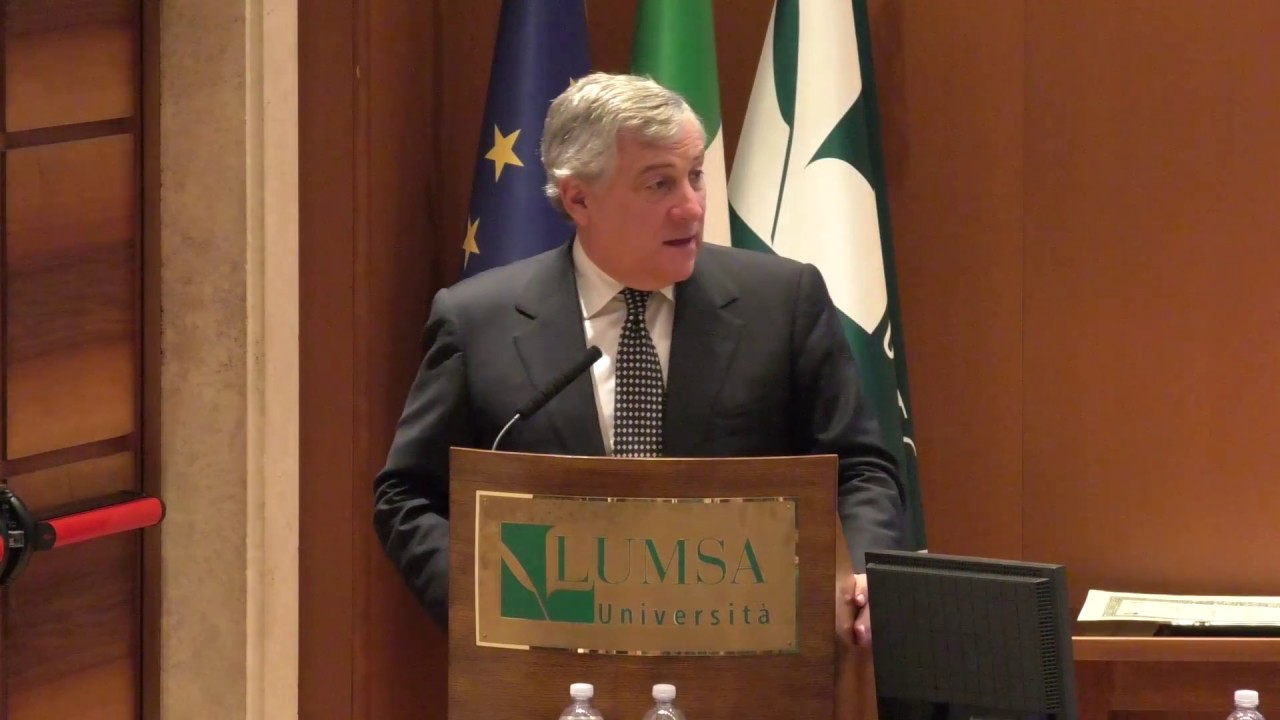 Le sfide dell'Unione europea. Intervista ad Antonio Tajani