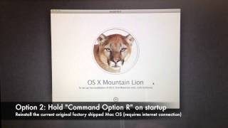 How to Factory Reset a Mac Computer