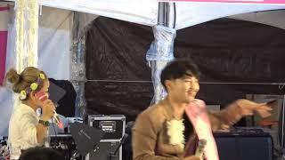 작은거인♡윤정 단장님/18/10/07 금산인삼 축제~@볼거리 많은 공연영상@