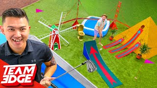 We Made the Craziest Mini Golf Course in the Edge Space!