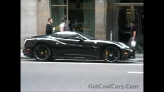 Rapper Fabolous New Ferrari California 2013 In New York
